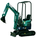 Where to rent EXCAVATOR, MINI 2,000 LBS in Springfield MO